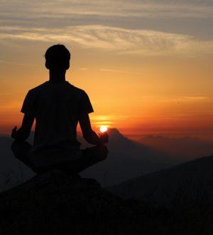 sunset-meditation